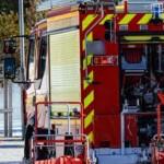 Incendiu puternic într-un bloc din București. Locatarii, evacuați