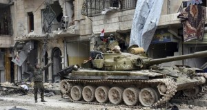 Regimul sirian a recucerit sâmbătă două localităţi deţinute de rebeli