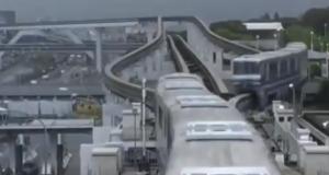 Când vedem și în România așa ceva?! Cum circulă trenurile suspendate în Japonia!