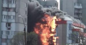 Scene de groază la Chişinău: două incendii catastrofale într-o zi (VIDEO)