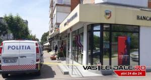 BREAKING NEWS- Jaf la o bancă din Baia Mare -Două persoane  au amenințat angajații cu pistolul