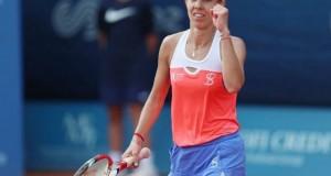 Mihaela Buzărnescu. Urmează o adversară de TOP pentru Buzărnescu în semifinale la Birmingham