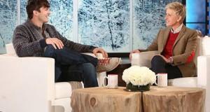 Ellen Degeneres, în lacrimi din cauza lui Ashton Kutcher