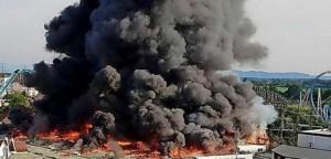 Incendiu devastator la un parc de distracţii din Germania: mai multe victime