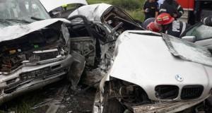 Încă un accident catastrofal în vestul țării