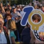 Protest în Piața Victoriei. Sute de oameni acuză asaltul Puterii asupra Justiției