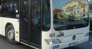 Prăpăd în Capitală, după ce un autobuz RATB a scăpat de sub control: 6 maşini făcute praf!