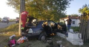 Patru copii grav răniţi de un şofer băut, la Ovidiu