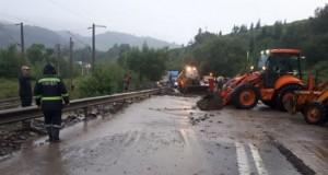 DN 17, între Ardeal și Moldova, blocat complet din cauza inundațiilor