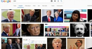 """Surpriză? Ce poză îți apare pe Google, dacă tastezi cuvântul """"idiot"""""""