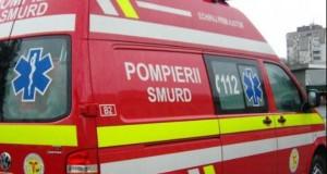 Accident grav cu un autocar, un microbuz şi o autoutilitară. 11 răniţi