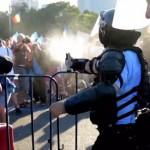 Protestatarul rănit de grenade, infectat cu bacterie clostridium