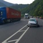 Accident pe Valea Oltului cu patru mașini implicate