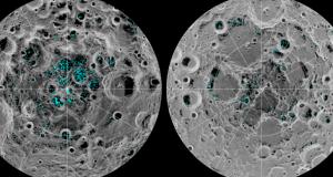 NASA anunță o descoperire majoră despre LUNĂ. Ce se află sub cei doi poli lunari