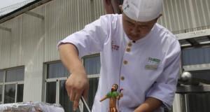 Chinezii gătesc cu ajutorul soarelui