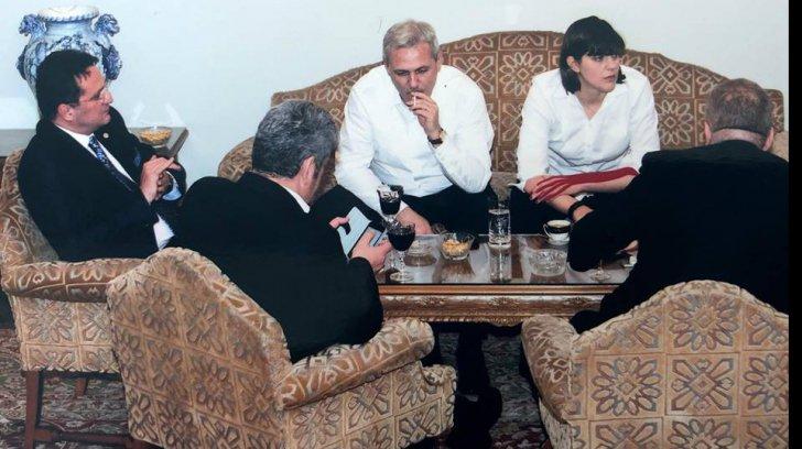 Dragnea, alături de Kovesi și Maior la una din vilele SRI