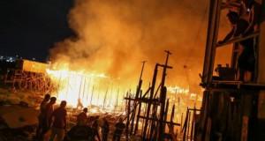 Imagini apocaliptice: Mii de casa, în flăcări în Brazilia