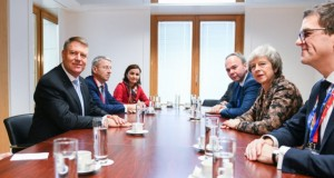 Klaus Iohannis s-a văzut cu Theresa May. Anunț despre Brexit