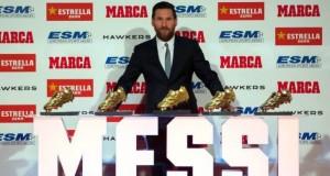 Tristețe pentru Ronaldo. Leo Messi a câștigat Gheata de Aur. Prima reacție