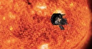 Prima fotografie de aproape a Soarelui, realizată de sonda Parker