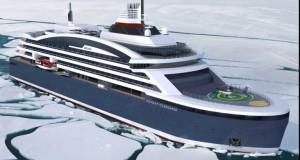 Așa arată prima navă de croazieră polară produsă în România FOTO