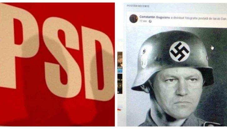 Simboluri naziste publicate de PSD