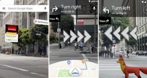 Realitatea augmentată debutează în Google Maps