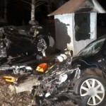 Accident cu patru victime, la Voinești. Mașinile, făcute praf!