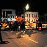 Protest la Cluj după ce Legile Justiţiei au fost modificate, din nou, prin Ordonanţă de Urgenţă