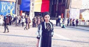 """Interpreta de muzică populară Ionela Stani ne aduce noi noutăți muzicale -Și-a înregistrat o nouă melodie-Piesa se numește """"Sus pe muntele înalt """""""