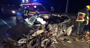 Accident îngrozitor cu 3 mașini, lângă Sighișoara