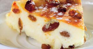 Prăjitură absolut delicioasă. Budincă cu branză de vaci. Secretul din caietul bunicii
