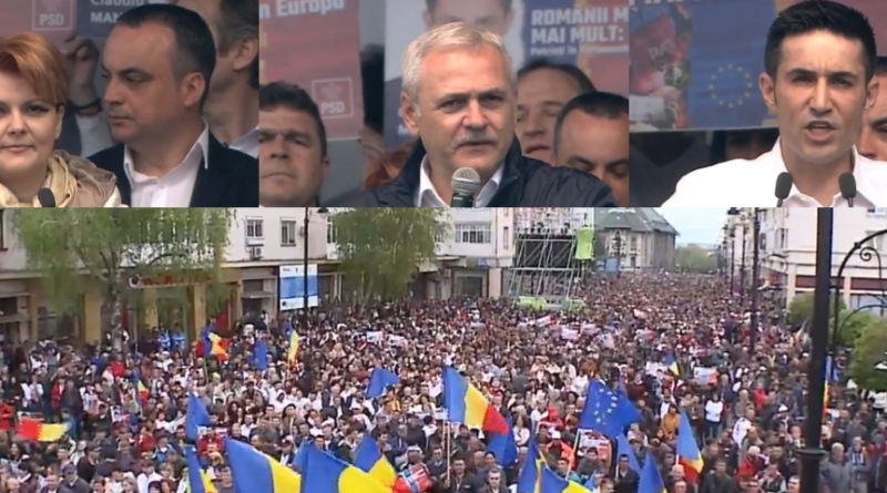 Claudiu Manda s-a dezlantuit la TV! Sotul Olgutei Vasilescu a spus adevarul despre mitingul PSD