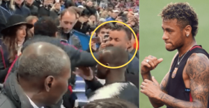 Gest șocant! Celebrul Neymar a lovit un suporter
