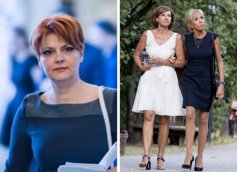 Carmen Iohannis facuta PRAF de Olguta Vasilescu. Nevasta lui Manda, GLUME NEMILOASE despre sotia presedintelui: Rochita roz deasupra genunchiului...