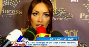 Divorteaza Bianca si Victor Slav? Reactia uimitoare a roscatei cand este intrebata daca depune actele de divort – VIDEO