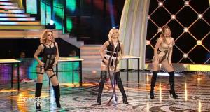 Gina Pistol, Jojo si Laura Cosoi au facut cel mai incitant dans cu putinta, in tinute sumare demne de revistele pentru barbati
