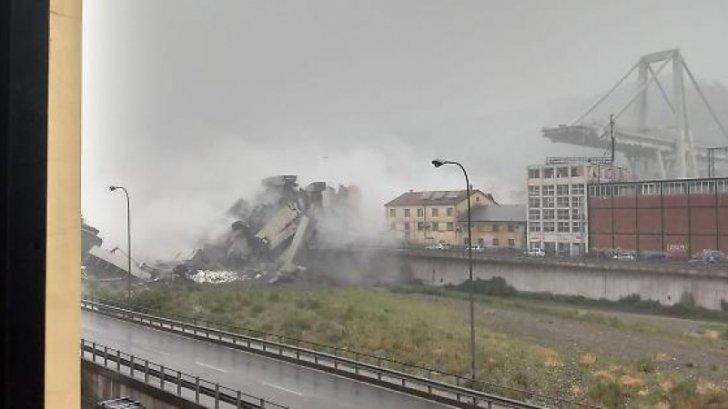 MAE avertizează: circulaţie dificilă în zona oraşului italian Genova, după tragedia de marți