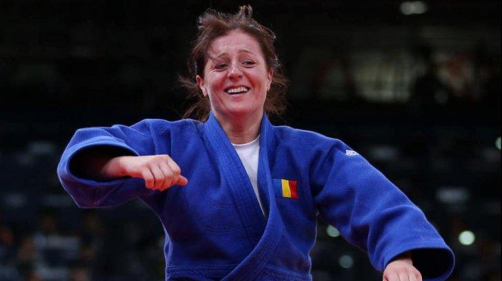 Corina Căprioriu, în optimi la Mondialele de Judo de la Baku