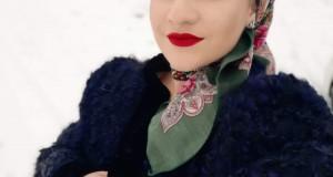 """Interpreta Alexandra Șofron ne aduce bucuria Crăciunului cu colinda """"Sus pa muntele cel Sfânt """"- Videoclipul colindei a fost filmat pe Cavnic"""