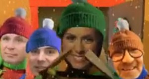 Vedetele Realitatea TV, apariţie inedită în videoclipuri de Crăciun (VIDEO)