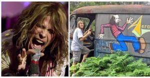 Au găsit în pădure duba originală a trupei Aerosmith, părăsită în anii '70. Uimitor ce era înăuntru