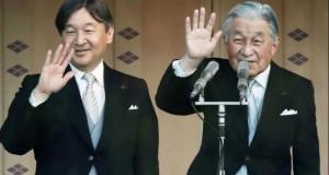 Moment istoric în Japonia. Împăratul Akihito abdică, urcă pe tron Naruhito