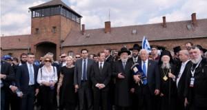 Dăncilă și candidata PSD la europarlamentare, în marș, de la Auschwitz la Birkenau