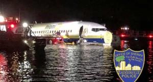 La un pas de catastrofă. Un avion cu 143 de oameni la bord a ajuns într-un râu