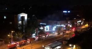 BREAKING NEWS: Incendiu la Medlife Titan, în București. Pompierii au intervenit cu patru autospeciale